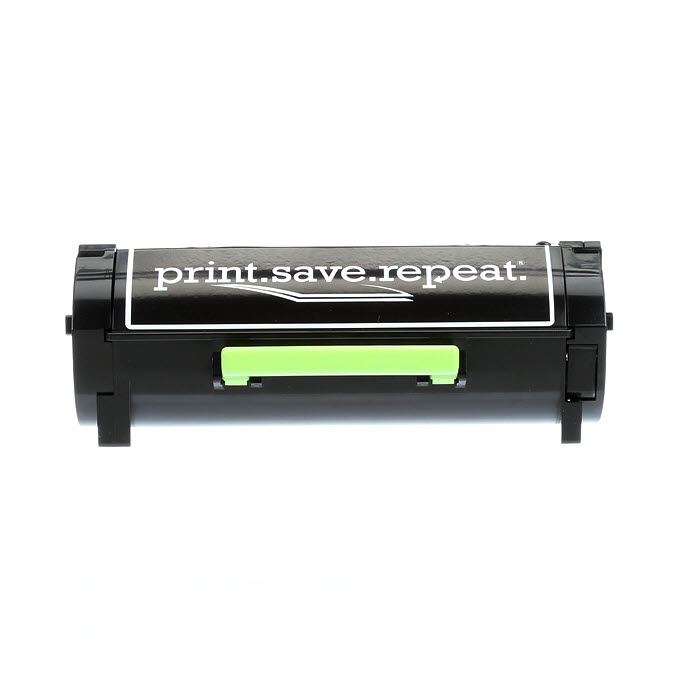 Lexmark 601H High Yield Remanufactured Toner Cartridge (60F1H00) for MX310, MX410, MX510, MX511, MX610, MX611 [10,000 Pages] thumbnail