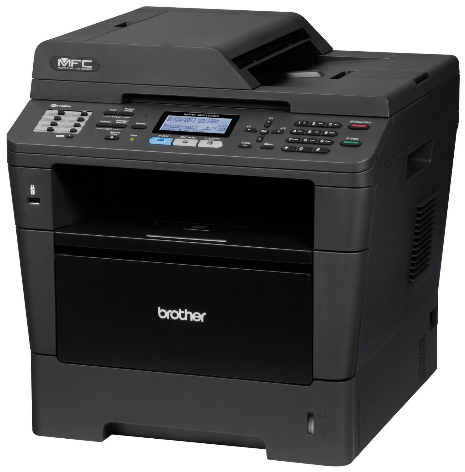 HOW TO RESET YOUR BROTHER MFC-8510DN DRUM COUNTER - Print